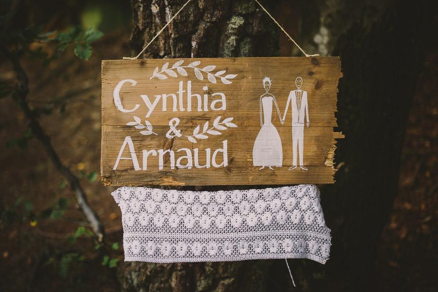 French wedding // Cynthia & Arnaud 1