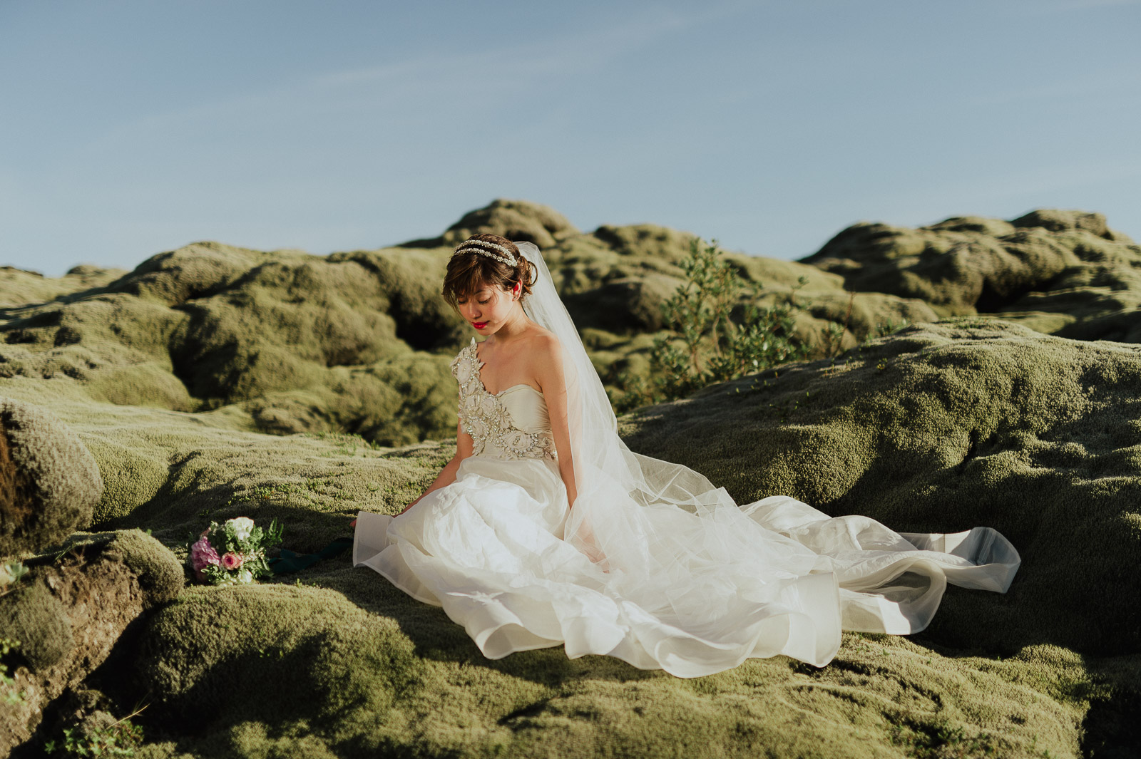 65-iceland-elopement-moss-field-bride