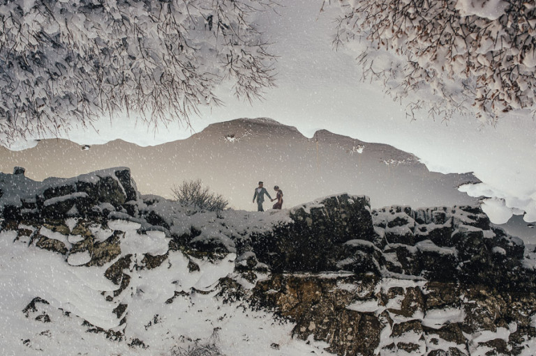 Iceland engagement session wedding photography