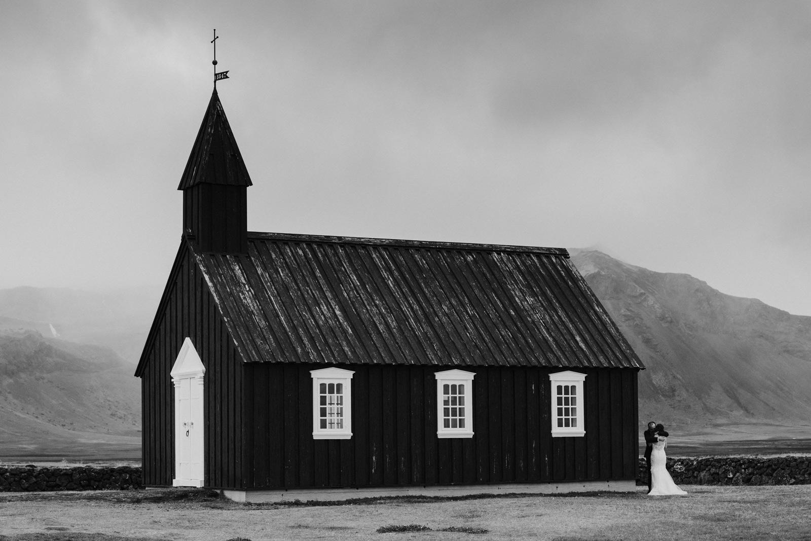Black Church Iceland Wedding – Snaefellsnes Peninsula – Mait Jü
