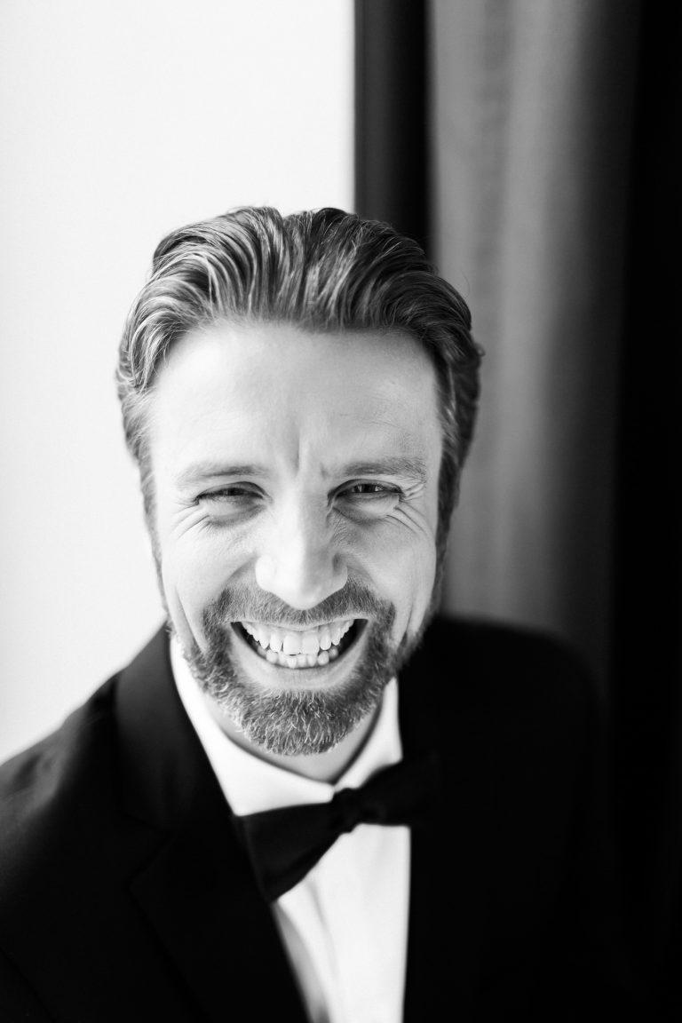 Portrait of Linnar Looris Artistic Director of the Estonian National Ballet